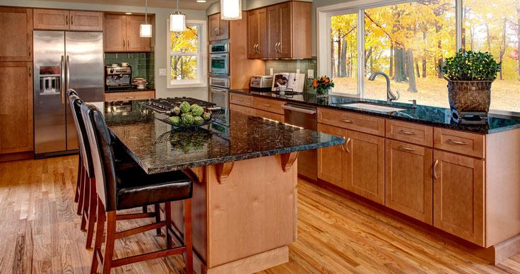 6 Square Cabinets Streamline Kitchen And Bath