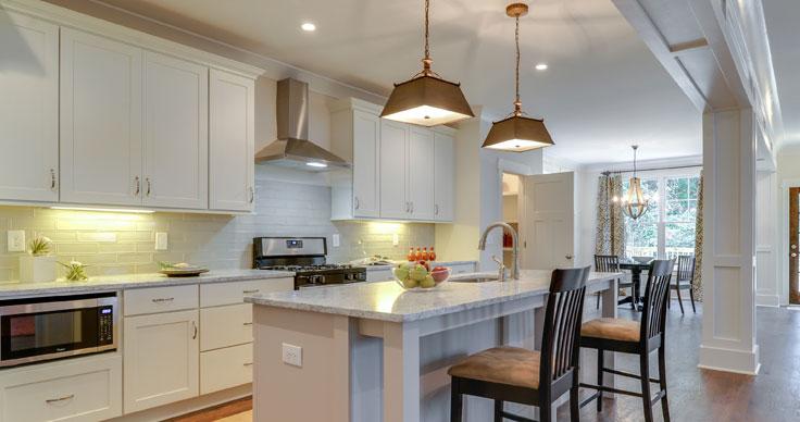 6 Square Cabinets | Streamline kitchen and Bath